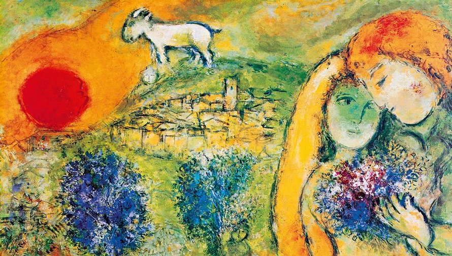 MARC CHAGALL: HIS LOVE AND LIFE ON EXHIBIT UNTIL JULY! - Hostel ...